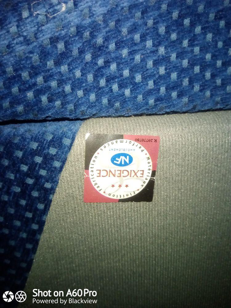fauteuil de couleur bleue,bois chêne 250 Logelbach (68)