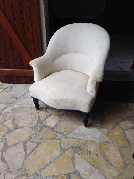Achetez Un Fauteuil Crapaud Occasion Annonce Vente à La Testede - Ancien fauteuil crapaud
