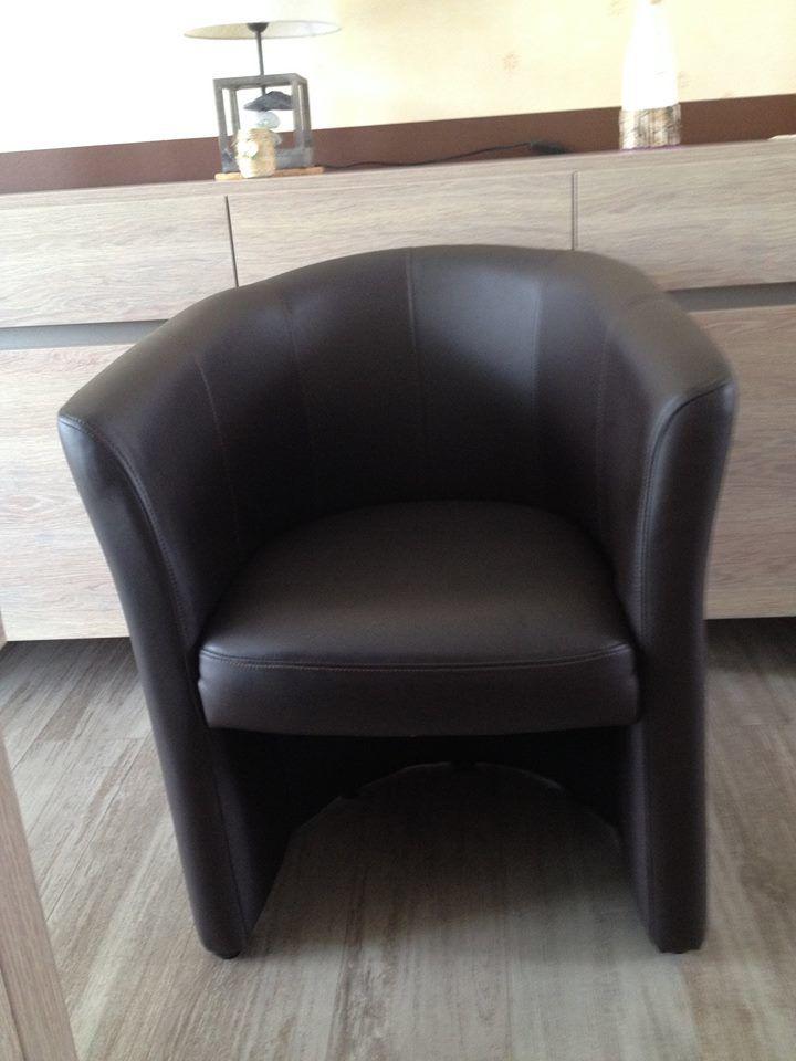 Achetez fauteuil crapaud quasi neuf annonce vente sennecey le grand 71 w - Fauteuil crapaud marron ...