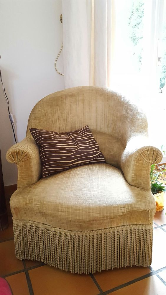Fauteuil crapaud 70 Aigremont (78)