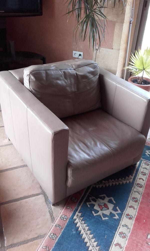 2 fauteuil cuir moderne, ajustable 225 Siorac-en-Périgord (24)