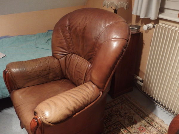 Un fauteuil en cuir 0 Strasbourg (67)