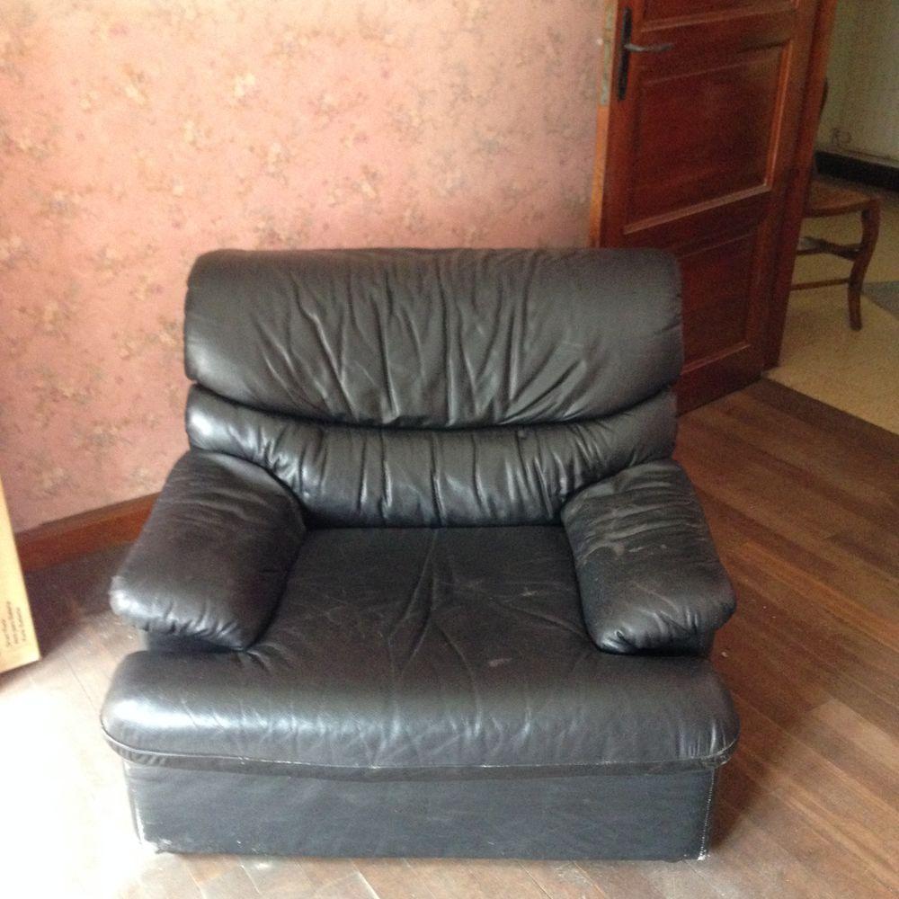 fauteuil en cuir 0 Dunkerque (59)
