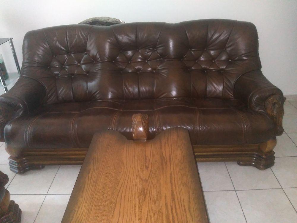 Achetez fauteuil cuir occasion annonce vente s te 34 wb157606307 - Fauteuil cuir occasion ...
