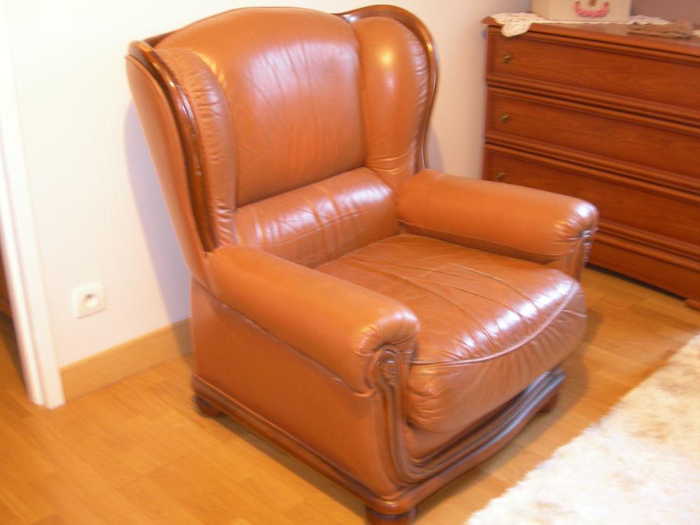 fauteuil cuir 30 Blonville-sur-Mer (14)