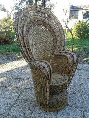 fauteuils rotin occasion annonces achat et vente de fauteuils rotin paruvendu mondebarras. Black Bedroom Furniture Sets. Home Design Ideas