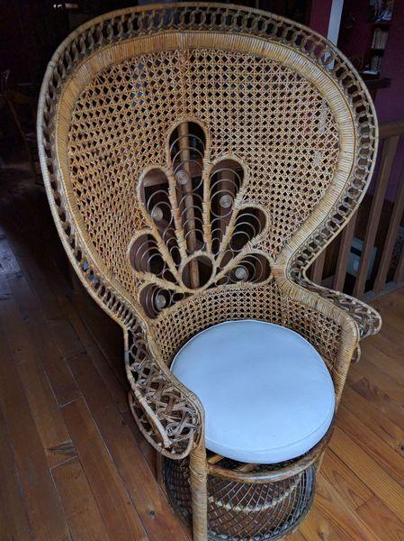fauteuils rotin occasion ozoir la ferri re 77 annonces achat et vente de fauteuils rotin. Black Bedroom Furniture Sets. Home Design Ideas