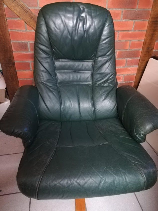 Fauteuil inclinable de relaxation cuir 0 Saint-Germain-des-Angles (27)
