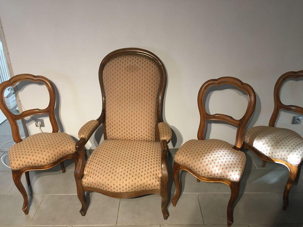 Fauteuil louis Philippe et chaises louis xv Meubles