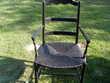 fauteuil noir à débattre Tillières-sur-Avre (27)