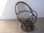 fauteuil pivotant en rotin 60 La Teste-de-Buch (33)