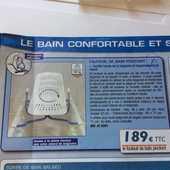 fauteuil pivotant spécial baignoire  65 Six-Fours-les-Plages (83)