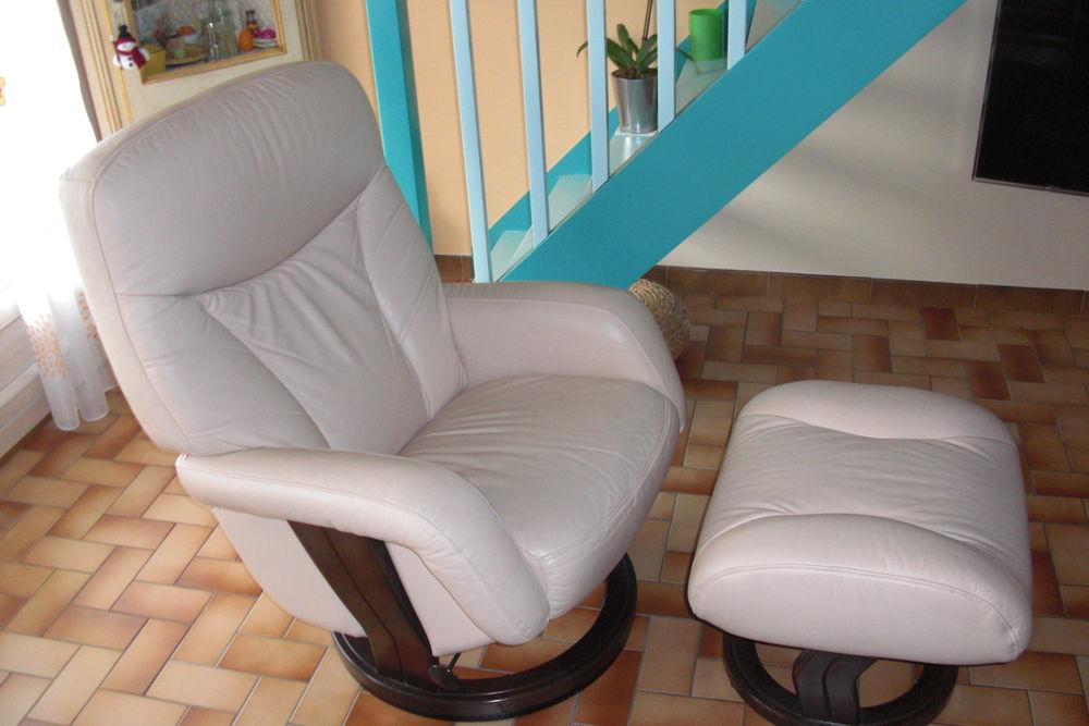 Achetez fauteuil relax cuir occasion annonce vente  Behonne 55