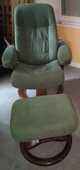 fauteuil relaxant et pouf  marque SCANSIT by STRESSLESS 280 Parthenay (79)