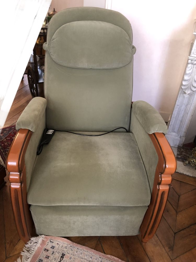 Fauteuil RelaxTradition  LOUVRE  EVERSTYL  650 Versailles (78)
