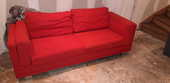 Fauteuil rouge 80 Seclin (59)