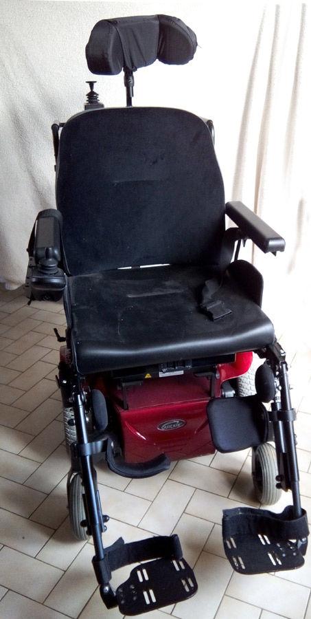 Fauteuil roulant électrique Quickie Modèle SALSA M2 760 Alençon (61)
