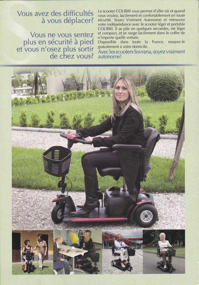 fauteuil roulant électriques  marque SOVRANA 0 Montauban (82)