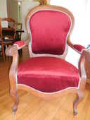 Fauteuil style Louis XV 110 Poitiers (86)