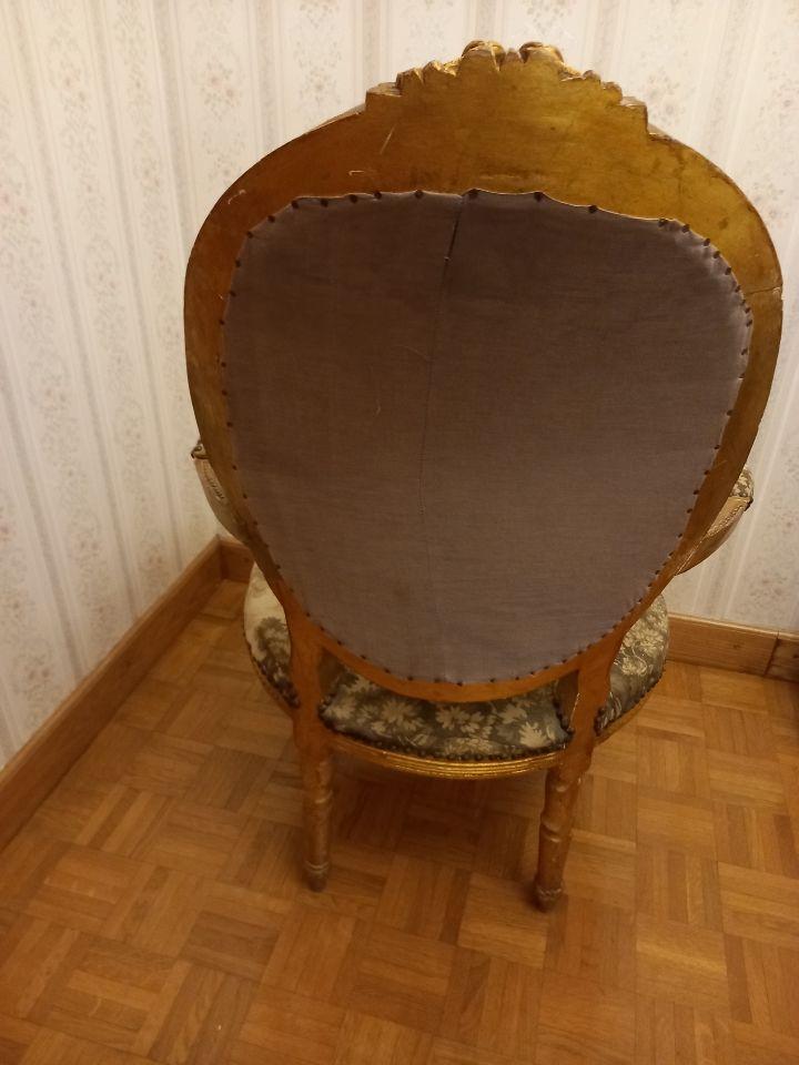 Fauteuil tapissé style Louis XV 145 Aubenas (07)