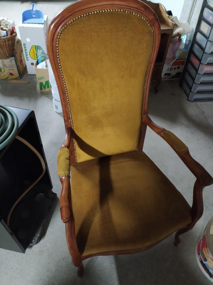 fauteuil Voltaire 60 La Balme-de-Sillingy (74)
