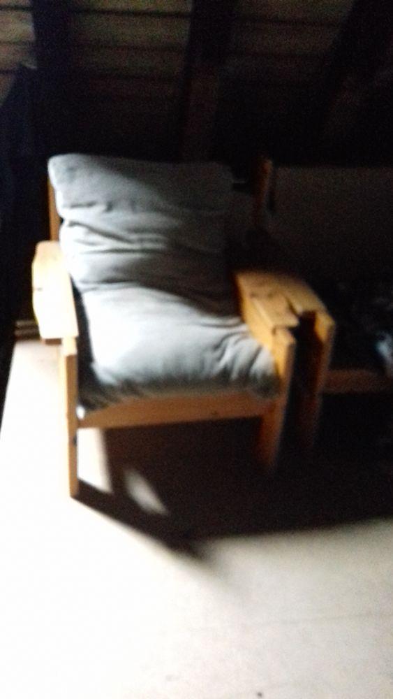 fauteuil en pin Meubles