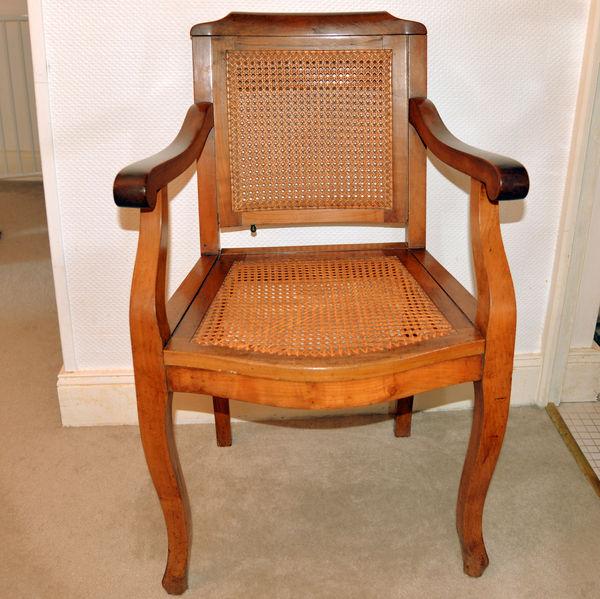 Achetez fauteuils de barbier occasion annonce vente blanquefort 33 wb149 - Fauteuil ancien en bois ...