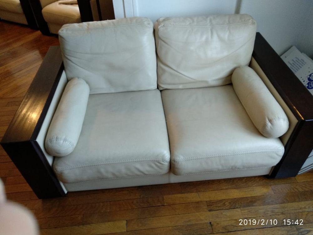 fauteuils et canapé buffle beige 300 Saint-Mandé (94)