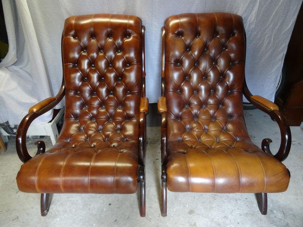 Fauteuils club cuir 400 Belhade (40)