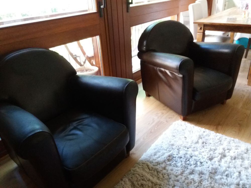 2 fauteuils club nous et chiffons  250 Versailles (78)