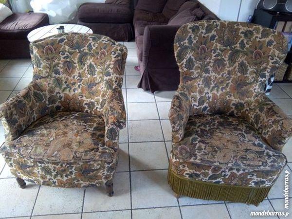 fauteuils   crapaud    60 Linselles (59)