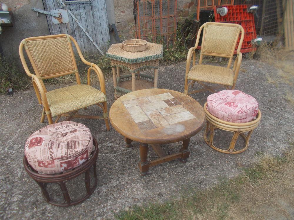 fauteuils meuble etc en rotin faire prix  340 Saran (45)