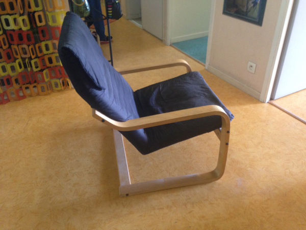 2 fauteuils relax noirs  90 Annecy (74)