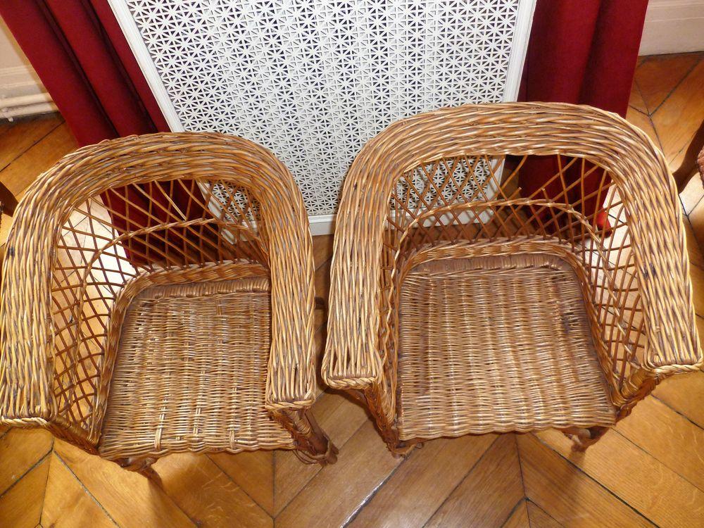 fauteuils en rotin pour enfants 12 Paris 9 (75)