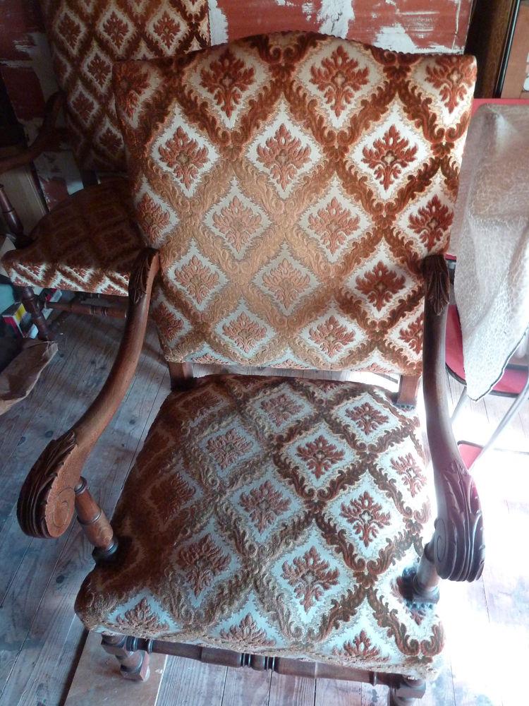 Fauteuils style Louis  Xlll 600 Mont-de-Marsan (40)