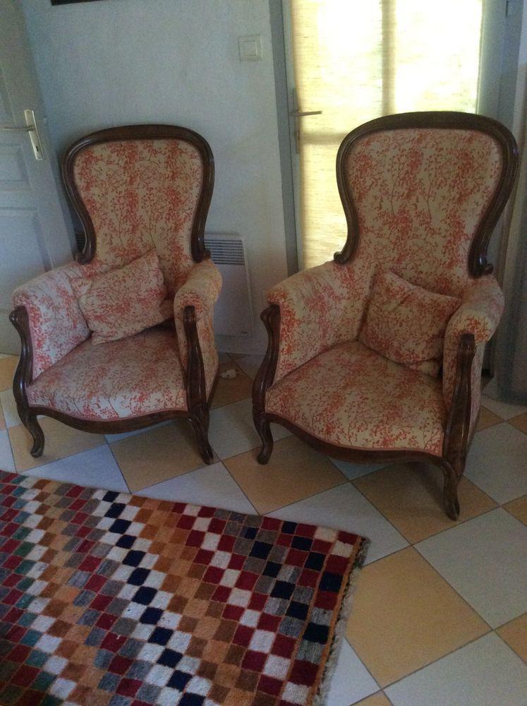 2 fauteuils Voltaire , 220 Bez-et-Esparon (30)