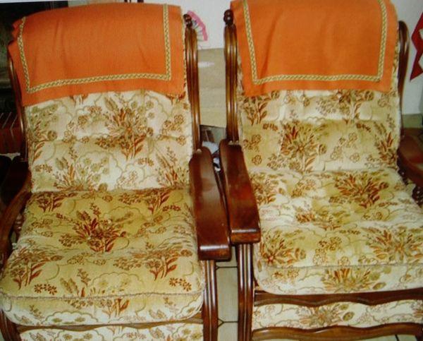 3  fauteuils 130 Pont-du-Casse (47)