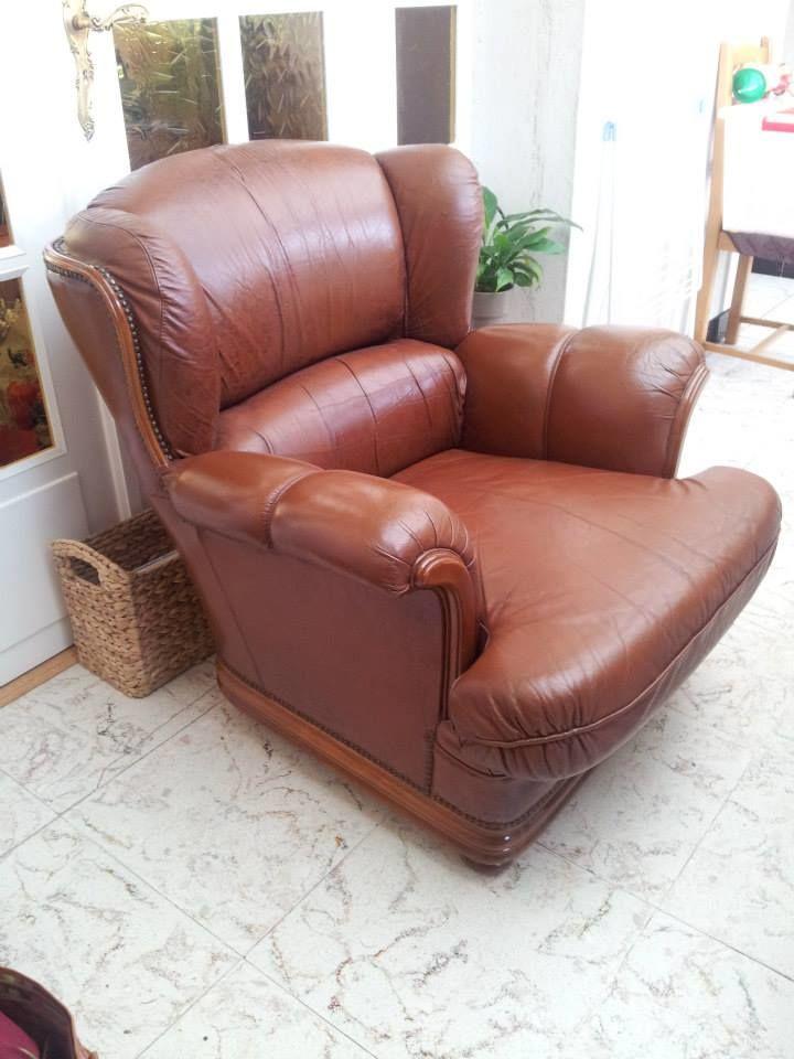 fauteuils cuir occasion dunkerque 59 annonces achat et vente de fauteuils cuir paruvendu. Black Bedroom Furniture Sets. Home Design Ideas