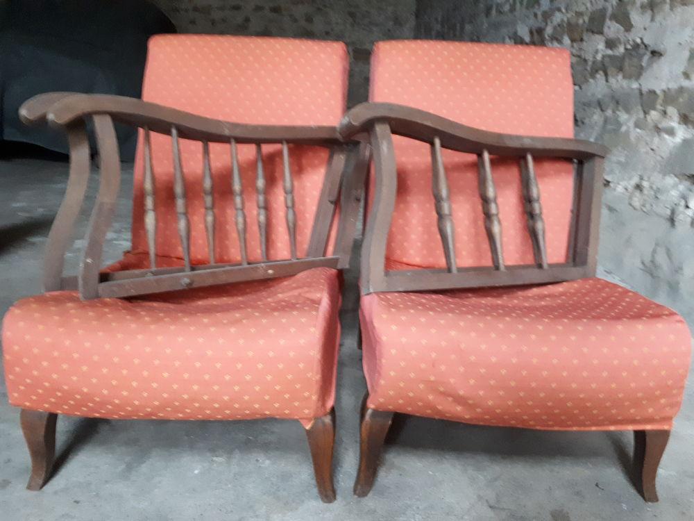 1 lot de 2 fauteuils 60 Bourron-Marlotte (77)