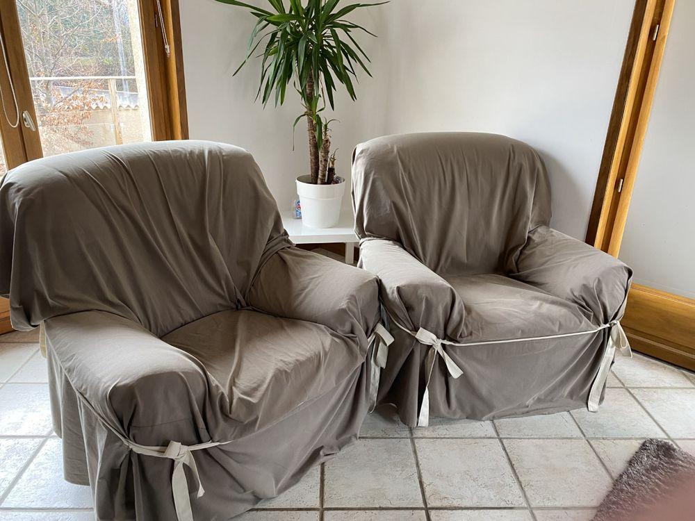 lot de 2 fauteuils  90 Coubon (43)