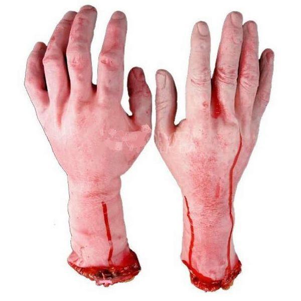 Faux Bras (mains gauche) d'humain pour Halloween 6 Nîmes (30)