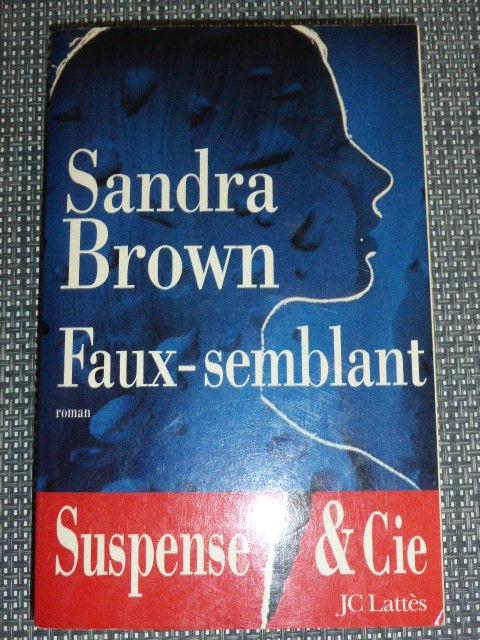 Faux semblant de Sandra Brown 3 Rueil-Malmaison (92)