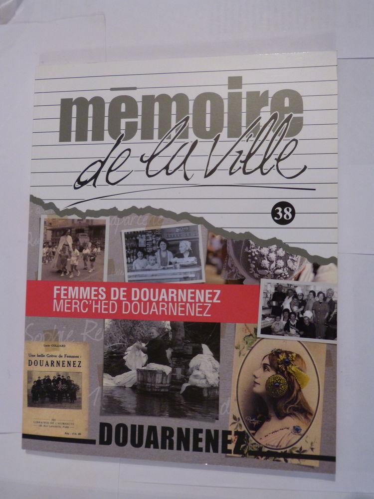 FEMMES DE DOUARNENEZ - MEMOIRE DE VILLE N° 38 Livres et BD