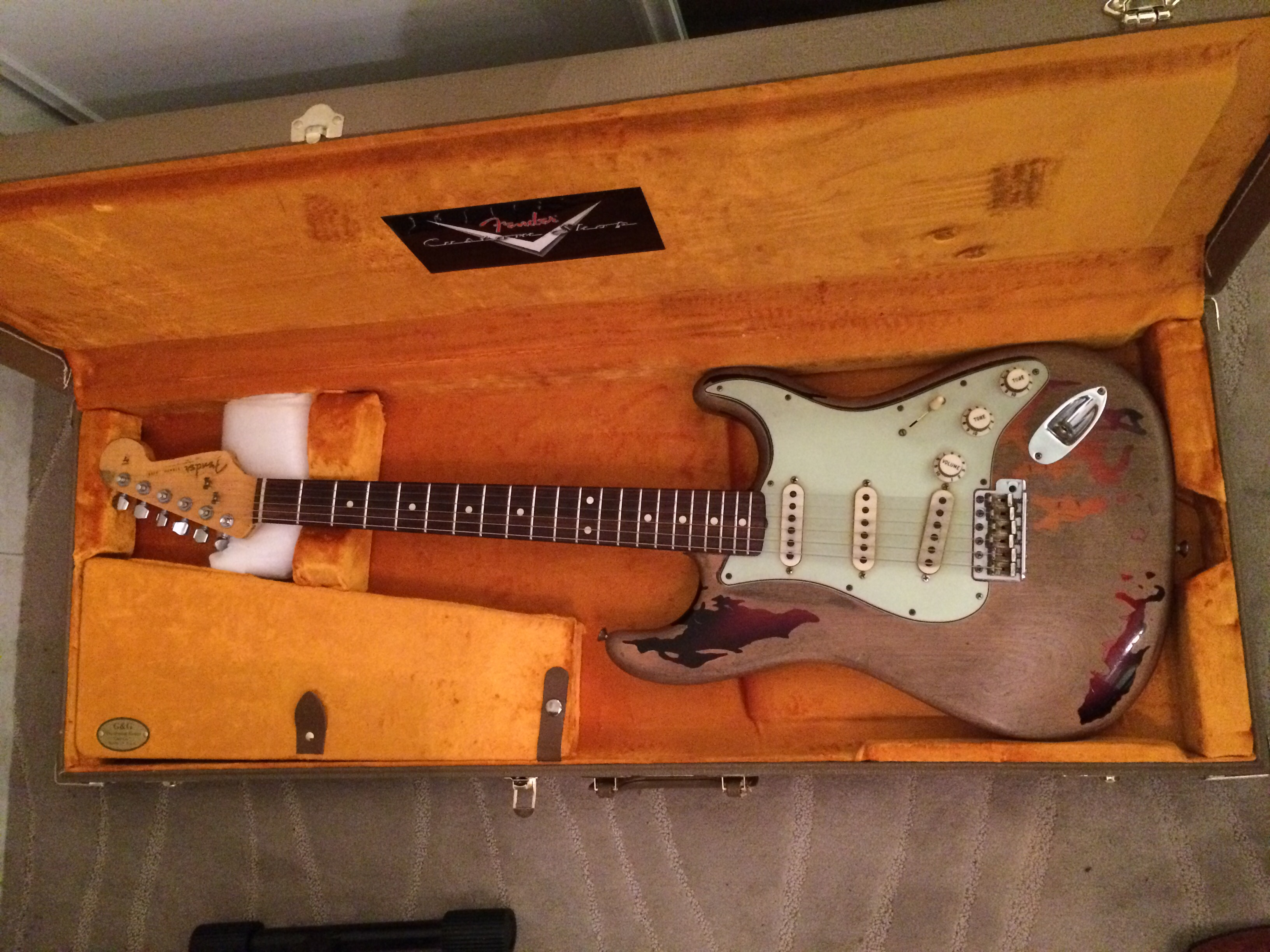 Fender stratocaster Rory Gallagher 3100 Lille (59)