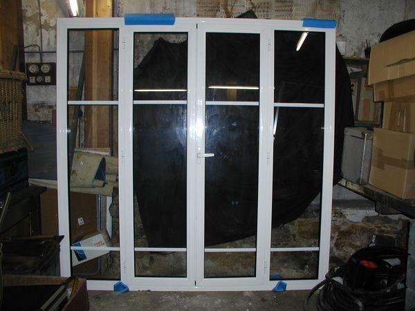Fenêtre aluminium 4 vantaux Bricolage