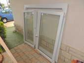 Fenêtre 2 battants dont 1 oscillant  PVC  blanc  60 Six-Fours-les-Plages (83)