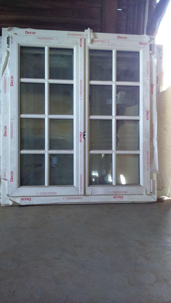 Achetez fenêtre blanche pvc quasi neuf, annonce vente à