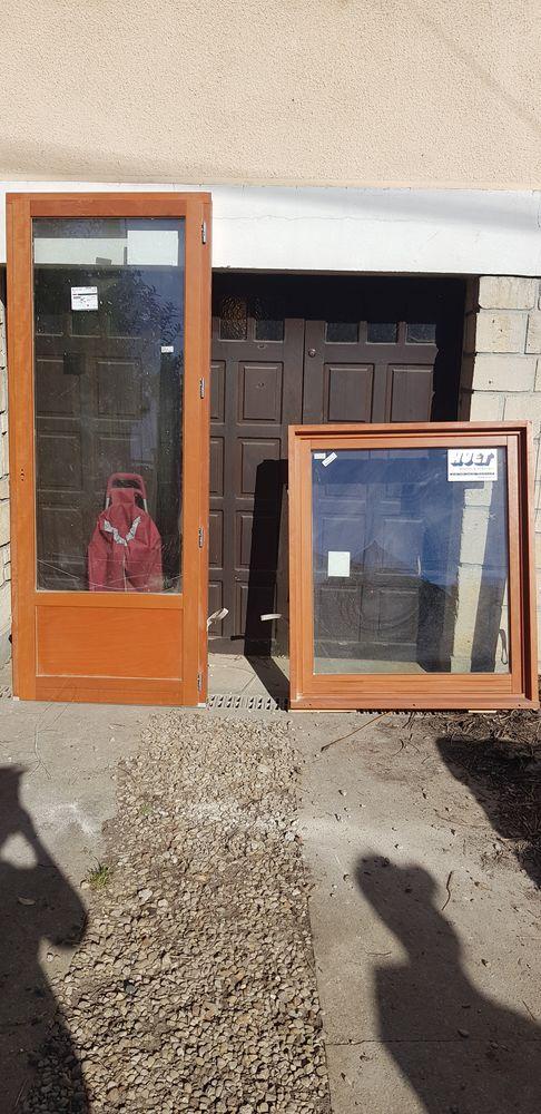Lot fenêtre PVC Bois duble vitrage  590 Sevran (93)