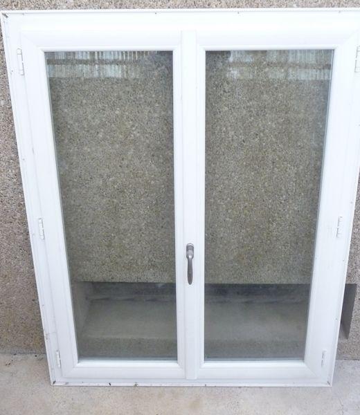 Fen tre pvc double vitrage pour renovation bricolage for Fenetre occasion
