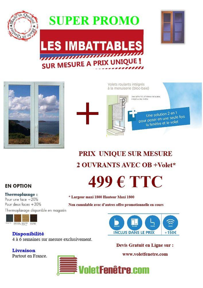 Fenetre + Volet sur mesure quelque soit sa taille 499 € TTC 499 Spycker (59)